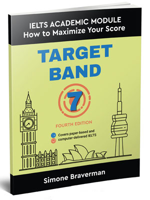 Target Band 7, a self-study book for the Academic IELTS test