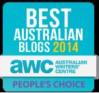 Best Australian Blogs 2014 Competition - People's Choice Winner