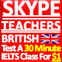 IELTS Skype Teacher