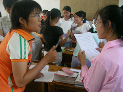 IELTS test in China