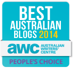 Best Australian Blogs 2014 Competition - People's Choice Winner